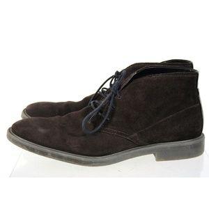 Calvin Klein Ulysses Brown Suede Chukka Boots